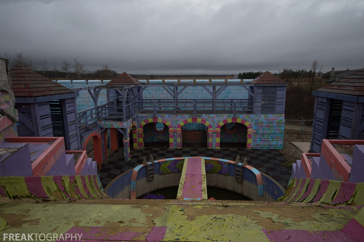 Exploring Abandoned Splatalot Game Show Set | Where is Splatalot
